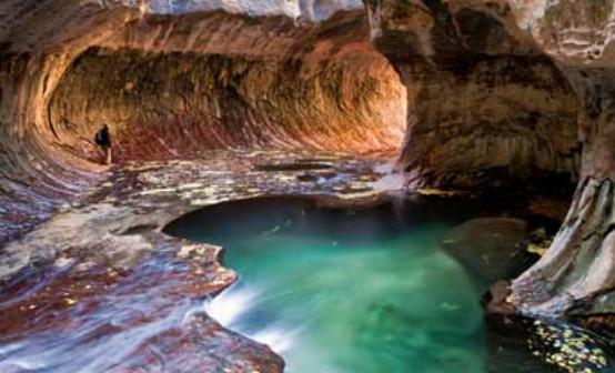 湾沙漠湖石头风景壁纸